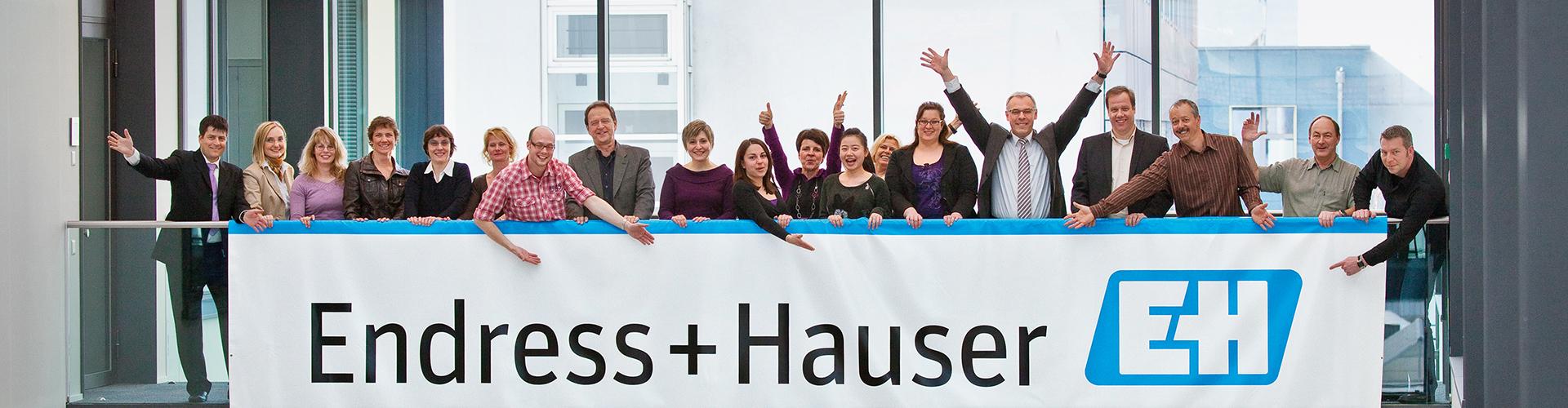 Representative of Endress+Hauser